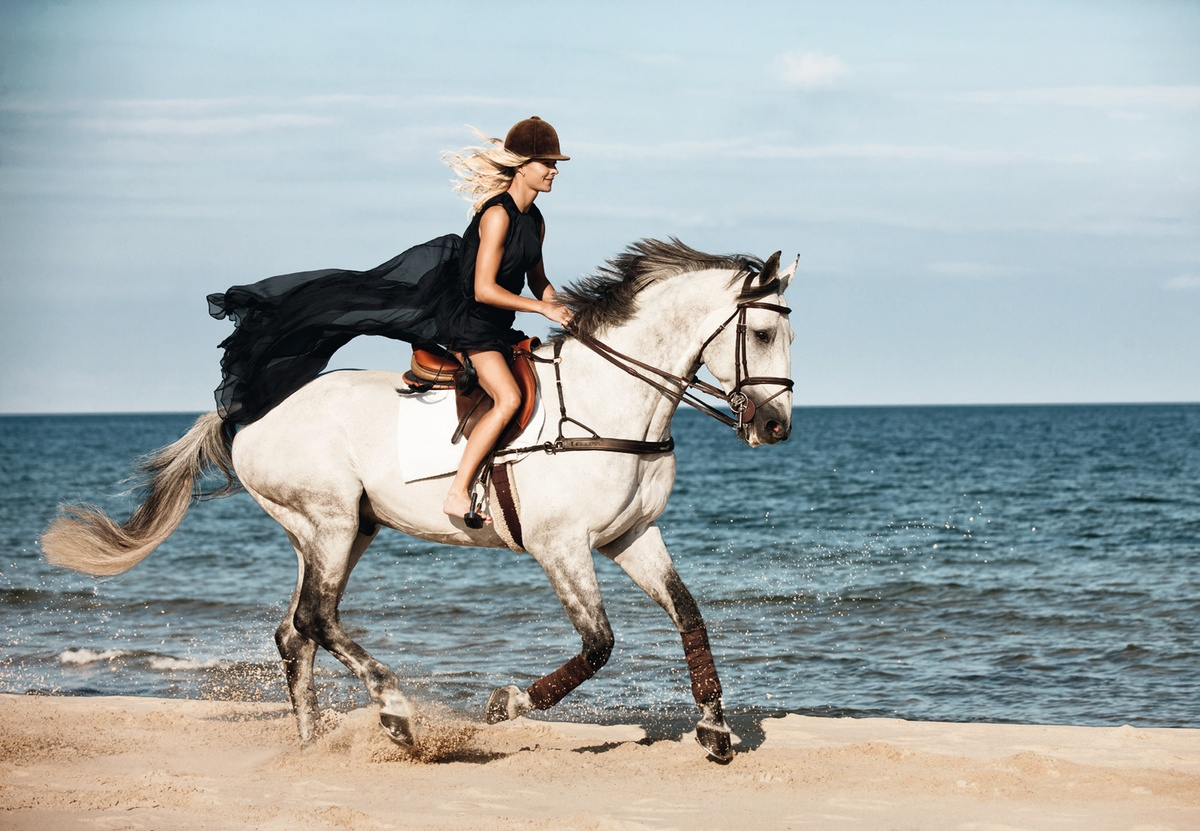 LUNDLUND : H&M - We love horses - Malin Baryard and Peder Fredricson