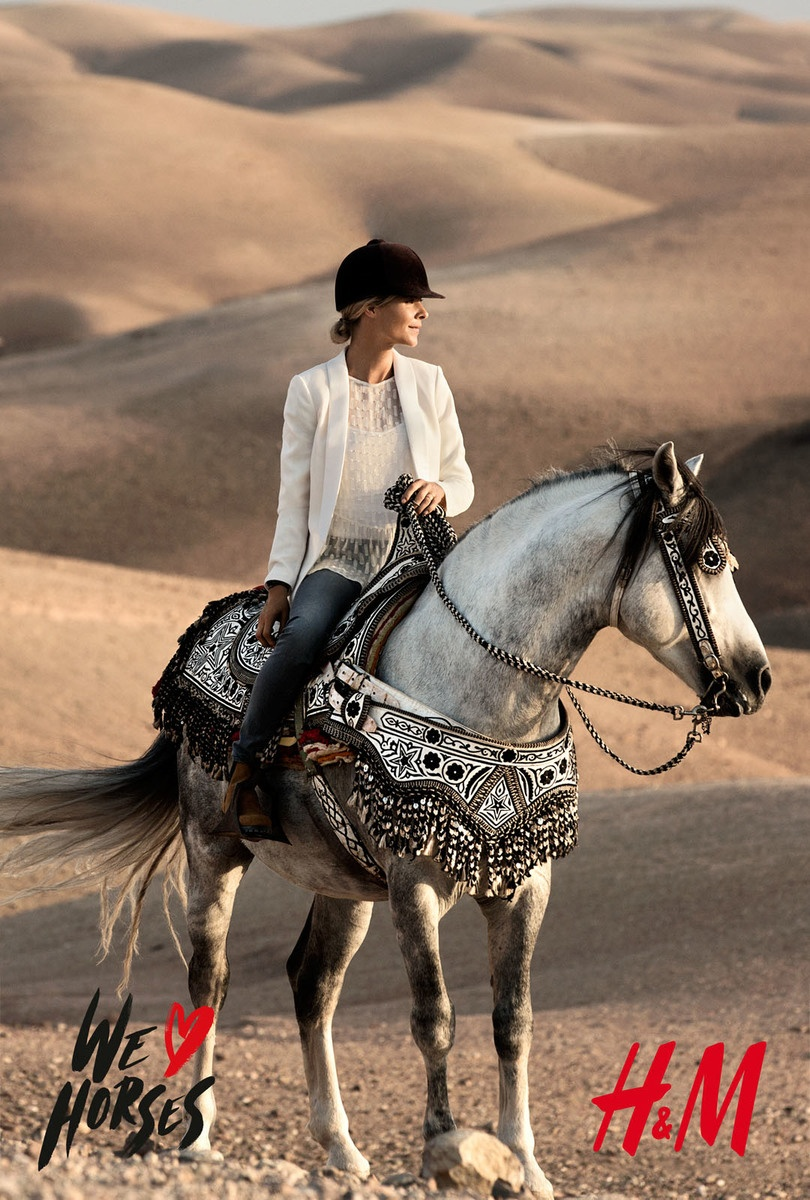 LUNDLUND : H&M - We love horses