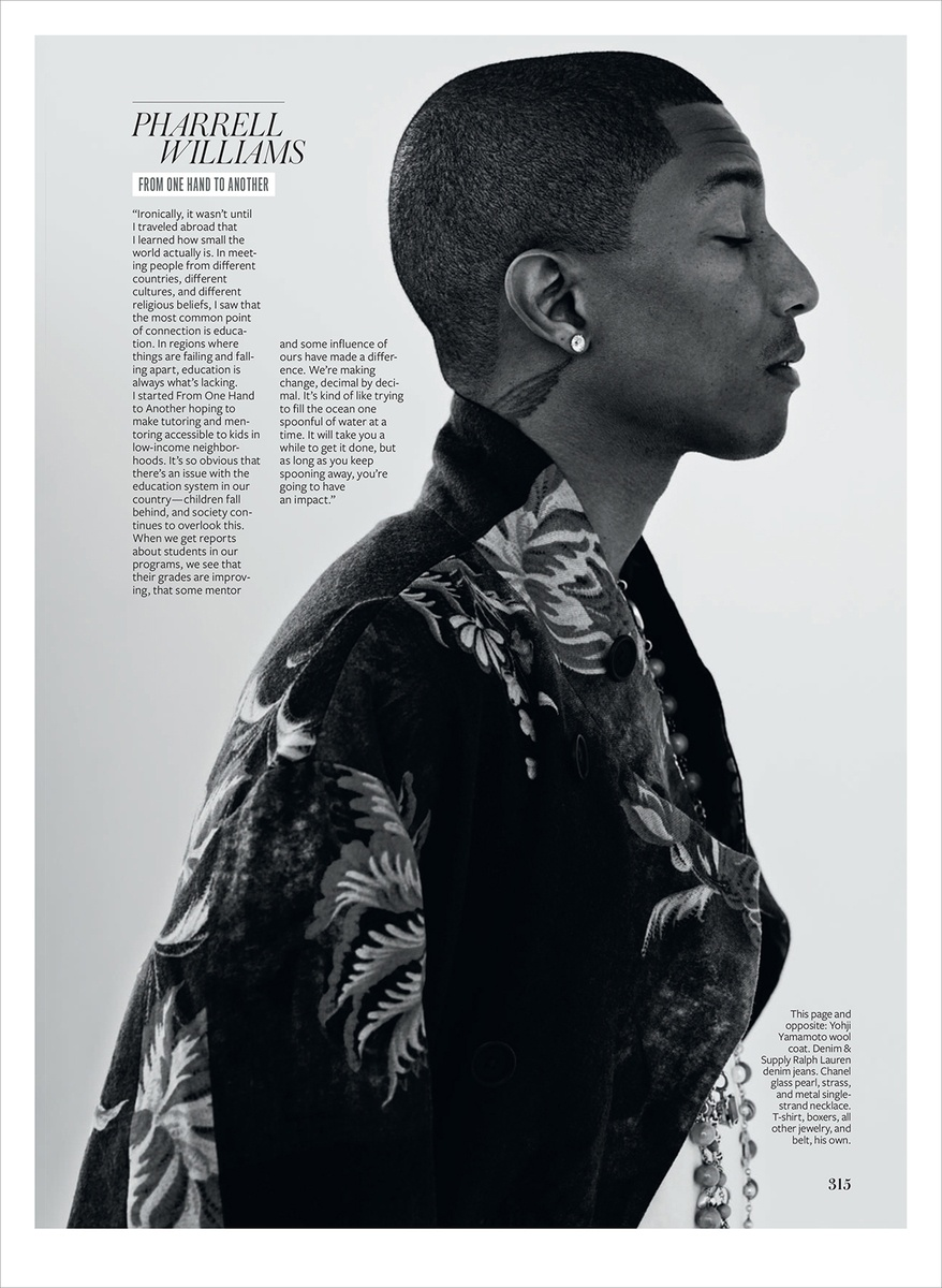 LUNDLUND : InStyle - Pharrell Williams