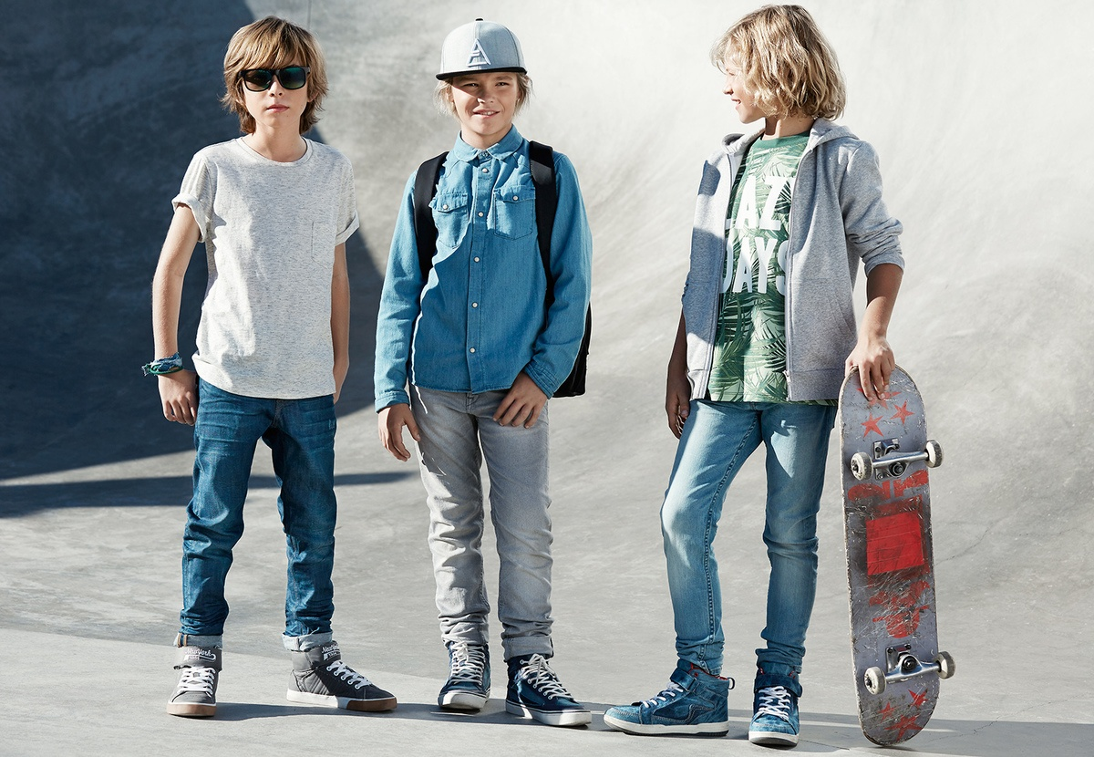 LUNDLUND : H&M kids denim