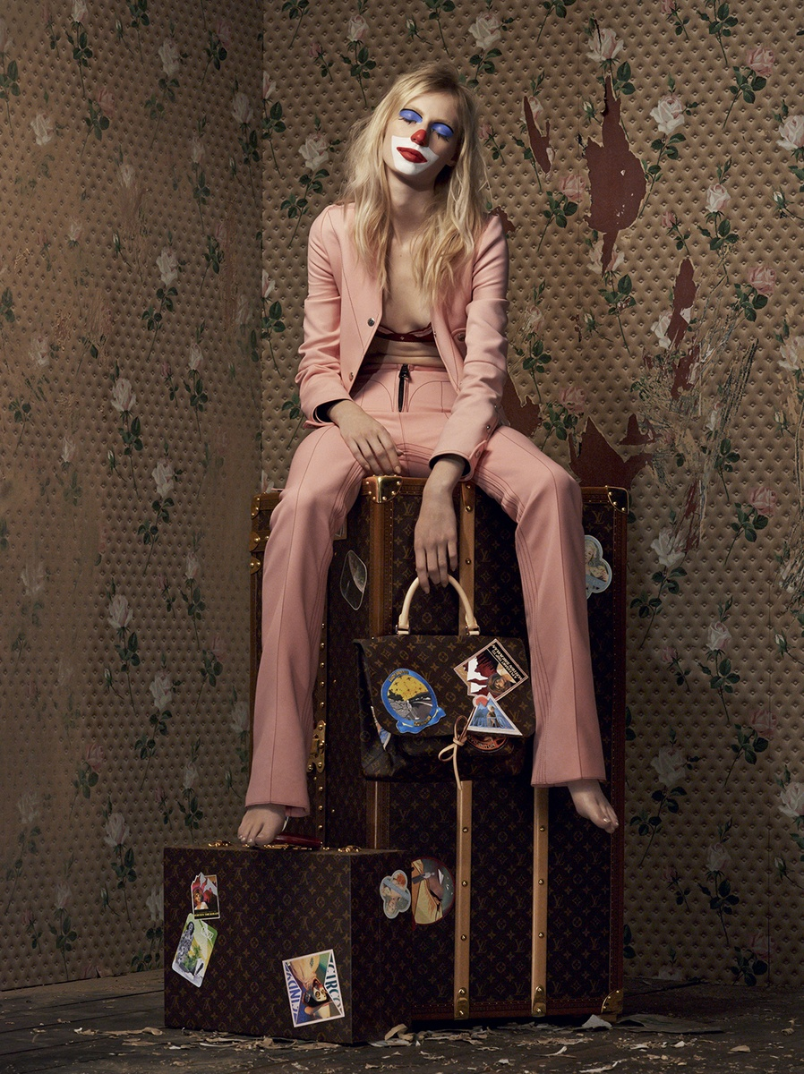LUNDLUND : Louis Vuitton Celebrating Monogram - Cindy Sherman / Johnny Dufort