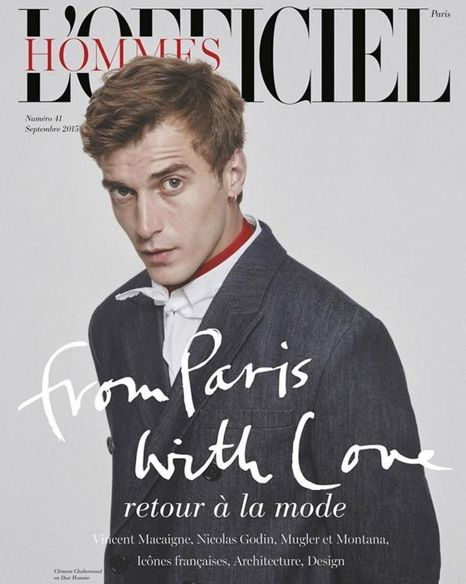 LUNDLUND : L'Officiel Hommes FW15 Covers