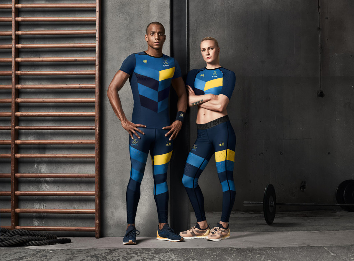 LUNDLUND : H&M Olympic Collection