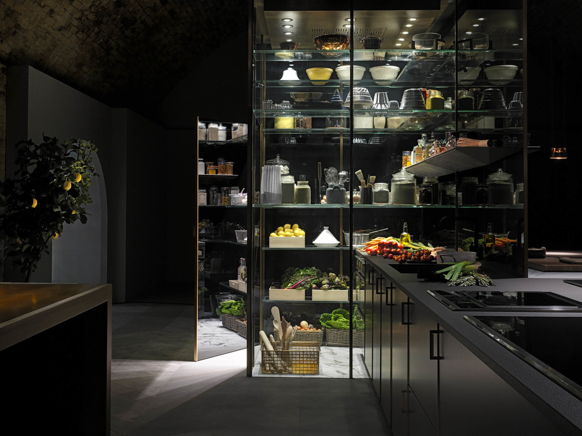 LUNDLUND : Grand Cuisine / Poggenpohl Fourth Wall Concept