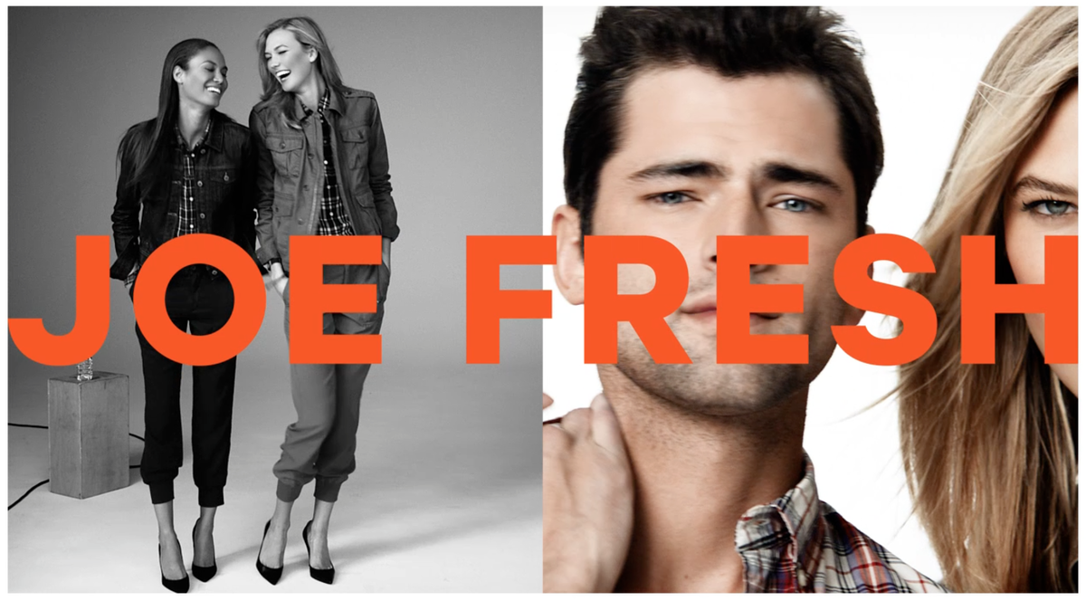 LUNDLUND : Joe Fresh fall 2015