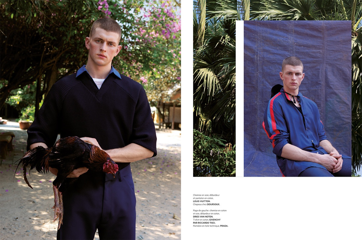 LUNDLUND : L'Officiel Hommes Paris