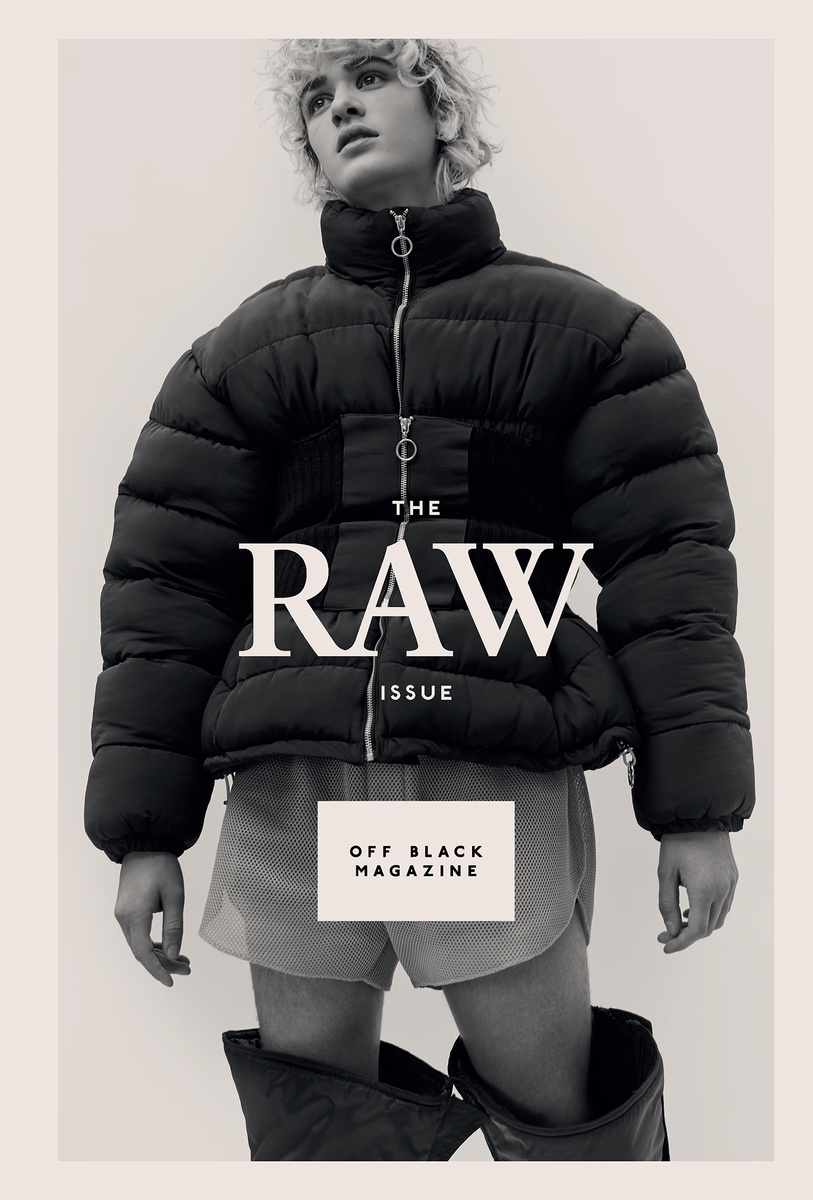 LUNDLUND : Off Black Magazine - Raw issue