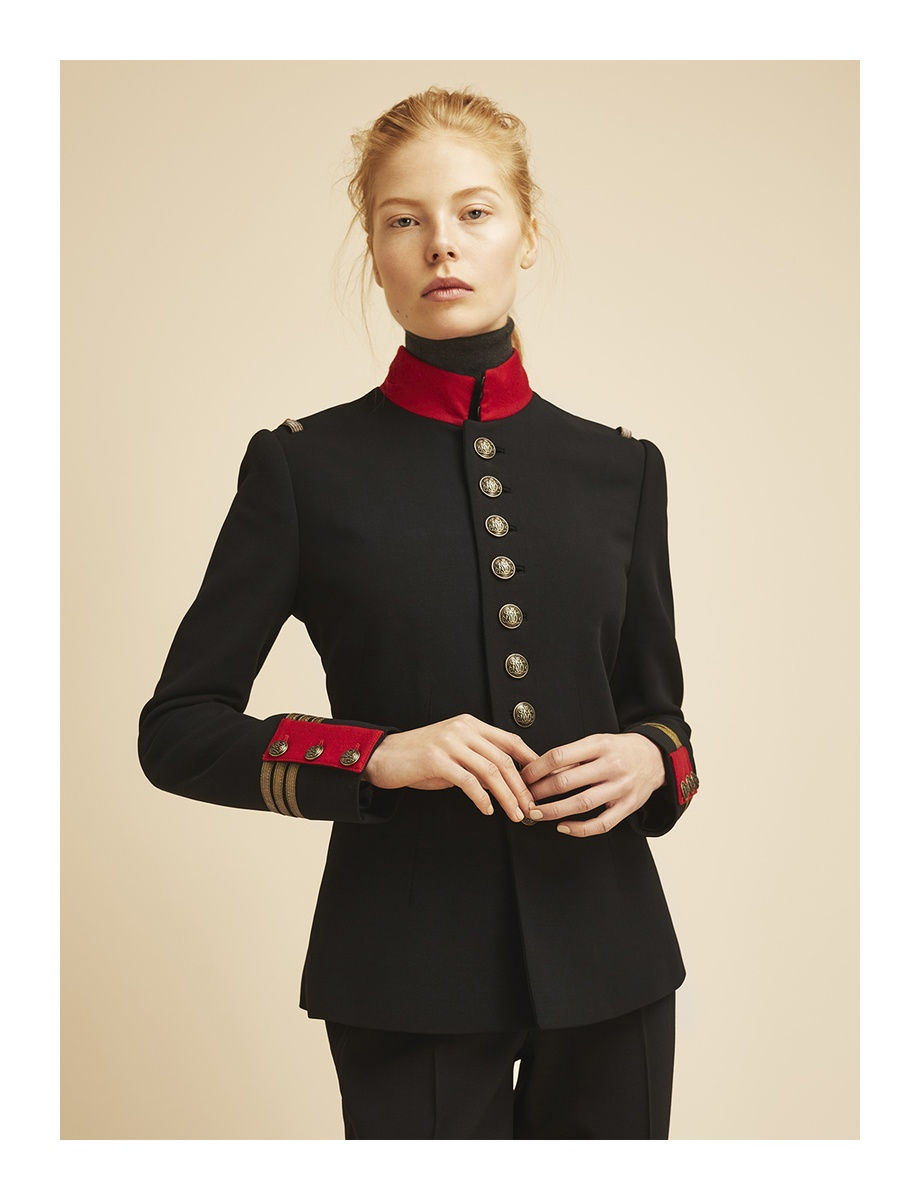 LUNDLUND : Ralph Lauren Icon style collection for Harper's Bazaar UK