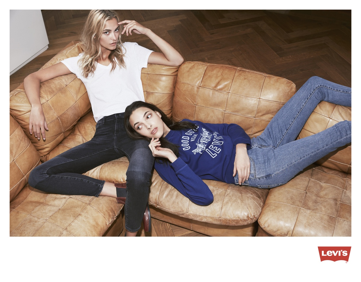 LUNDLUND : Levis - Glamour UK promotion