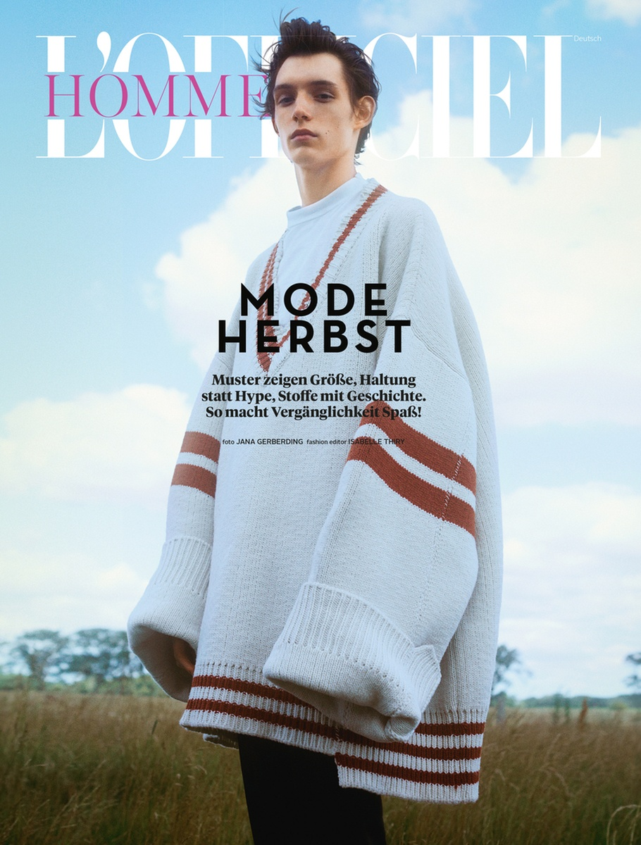 LUNDLUND : L'Officiel Hommes Germany