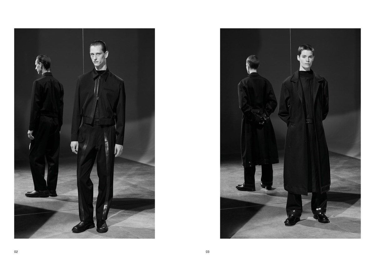 LUNDLUND : Mackintosh 0001 Lookbook