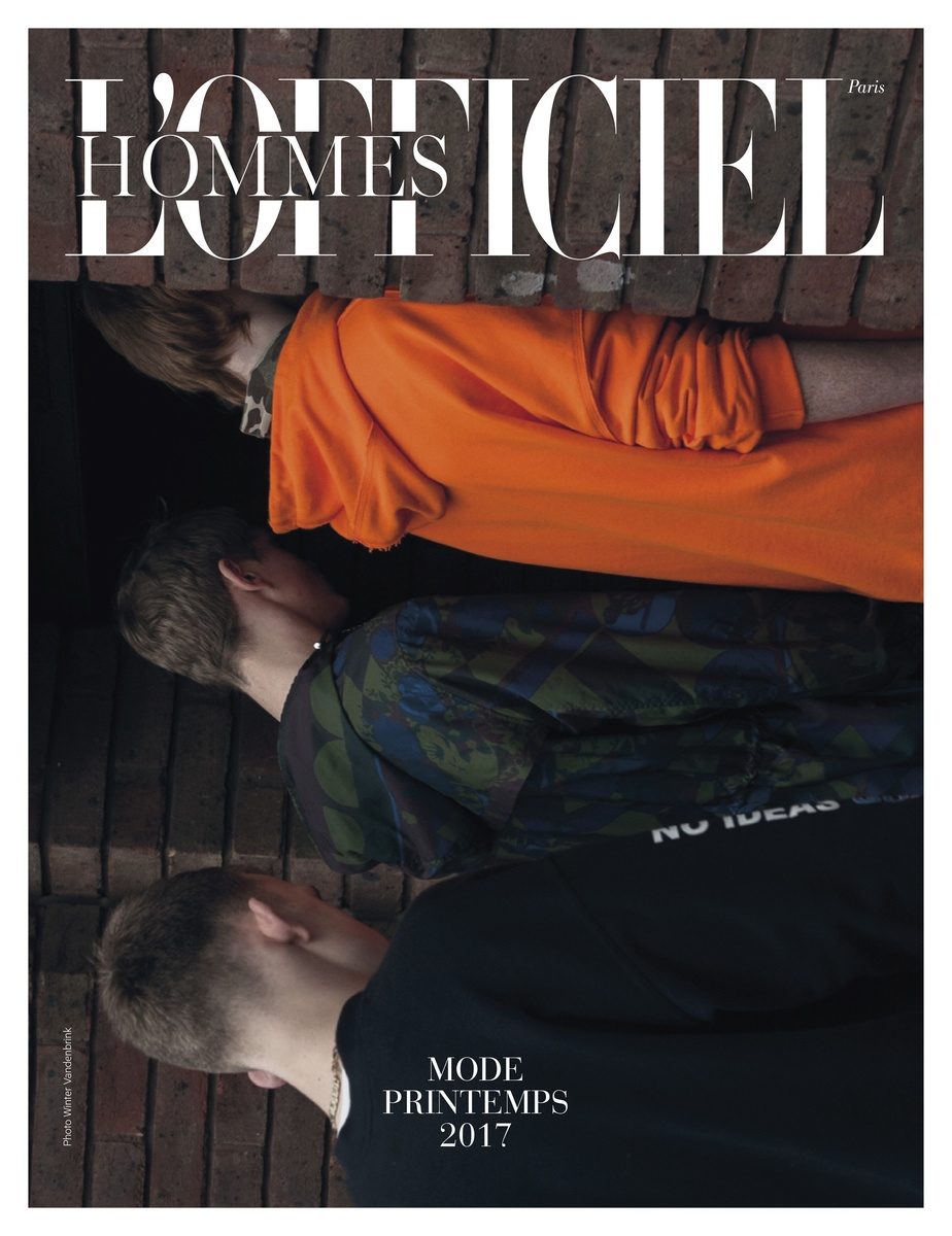 LUNDLUND : L'Officiel Hommes Paris #47