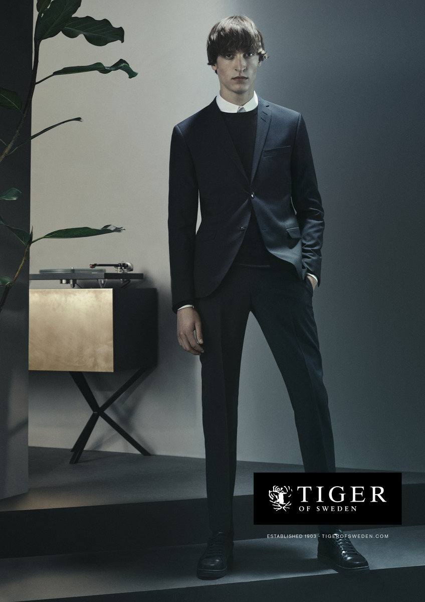 LUNDLUND : Tiger of Sweden Aw17 Campaign