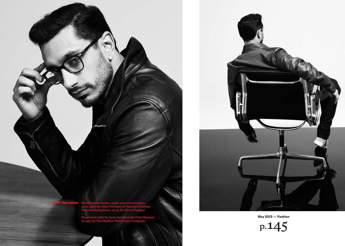 LUNDLUND : Esquire - Riz Ahmed