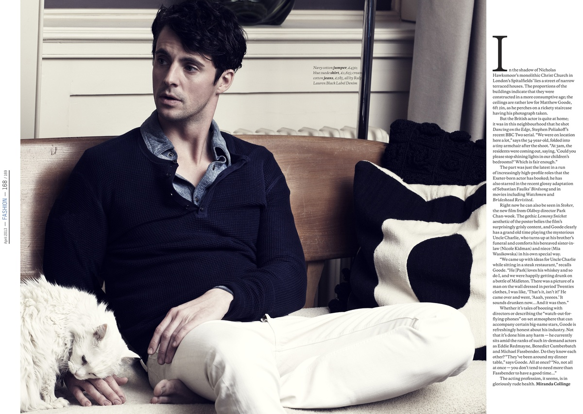 LUNDLUND : Esquire - Matthew Goode