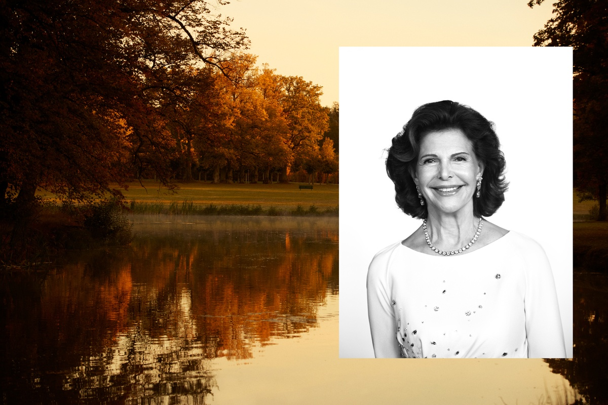 LUNDLUND : H.M. Queen Silvia of Sweden - ELLE