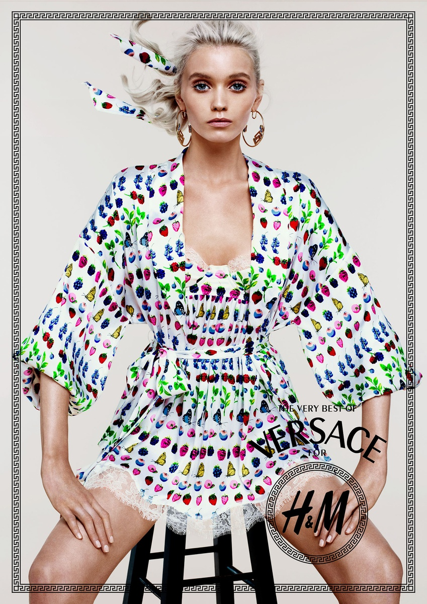 LUNDLUND : Versace for H&M Cruise Collection