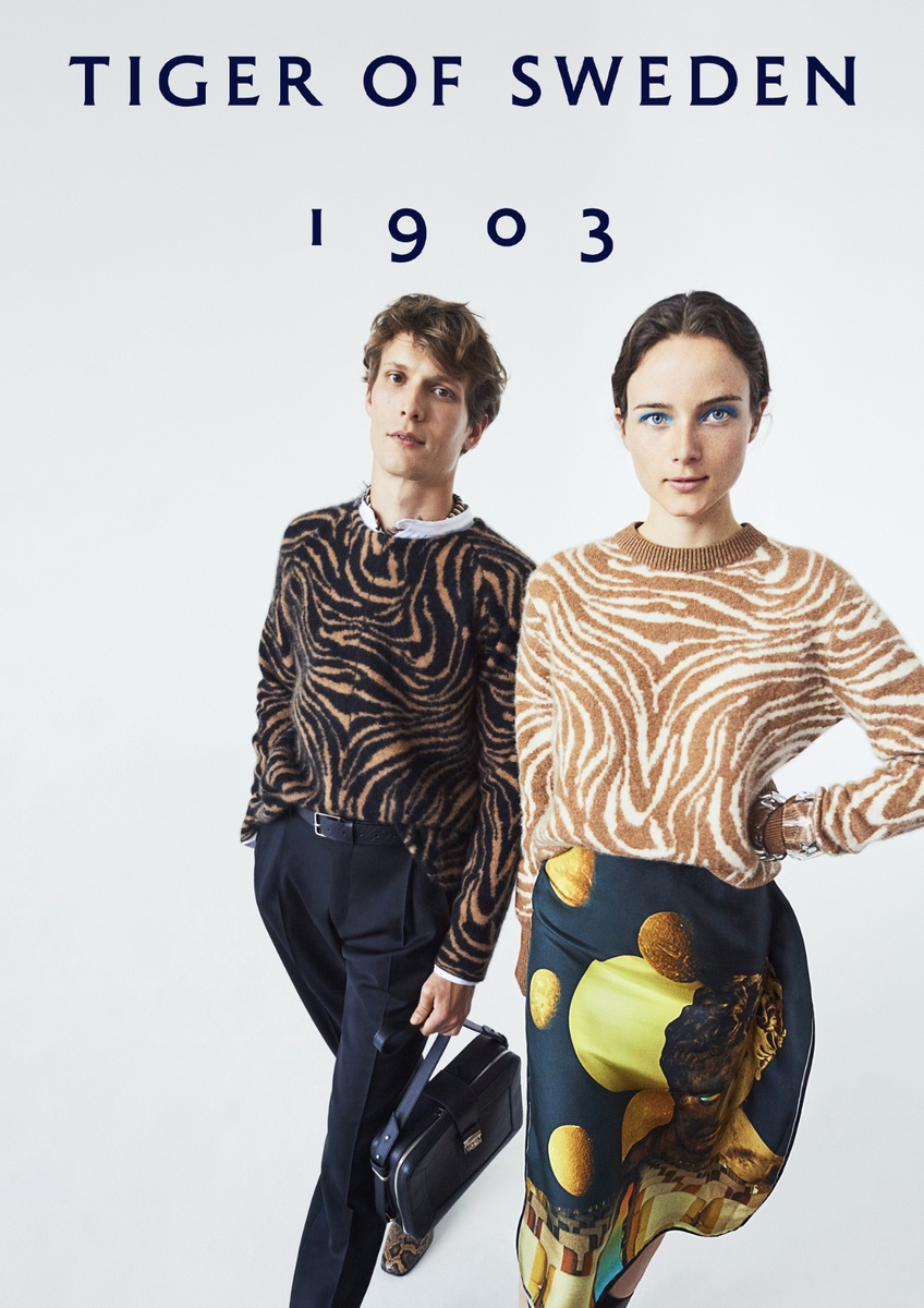 LUNDLUND : Tiger of Sweden SS19