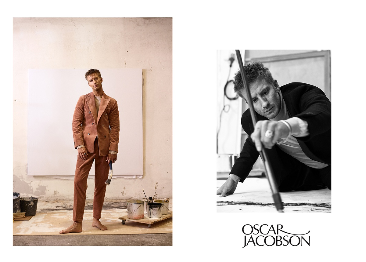 LUNDLUND : Filip Berg for Oscar Jacobsson AW 19