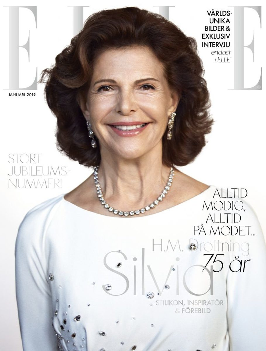 LUNDLUND : Queen Silvia for Elle Sweden